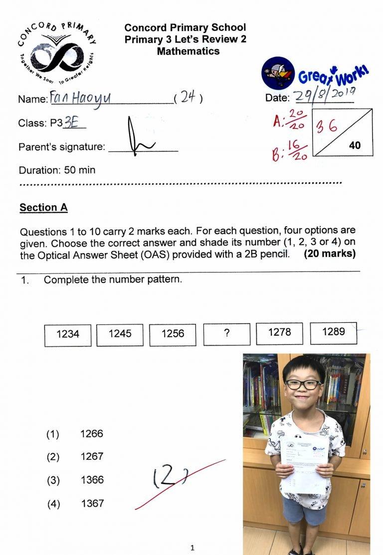 486_HaoYu_CA2_Math_2019