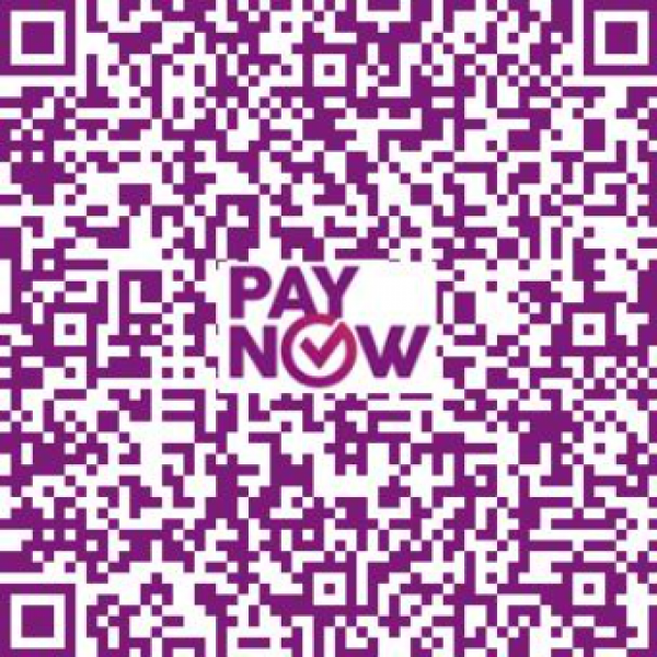Paynow QR tag to pay course fees